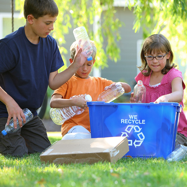 Recycling Pickup in Sioux Falls