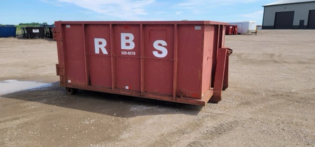 10 Cubic-Yard Dumpster